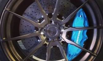 deadmau5 gets new adv wheels and blue calipers for his mclaren 650s