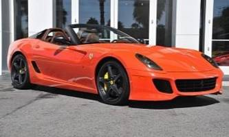 Ferrari 599 SA Aperta For Sale in California [Photo Gallery]