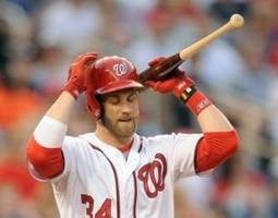 Bryce Harper Sits Out Against Colorado Rockies