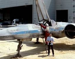 Star Wars: Episode VII X-Wing fighter jet teased by J.J. Abrams